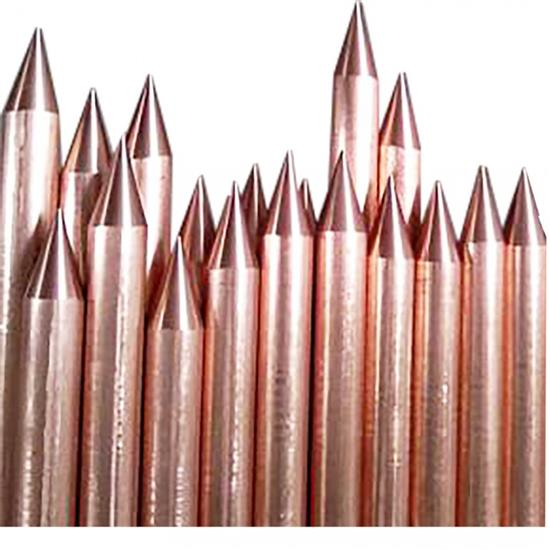 COPPER BONDED GROUNDING PODS