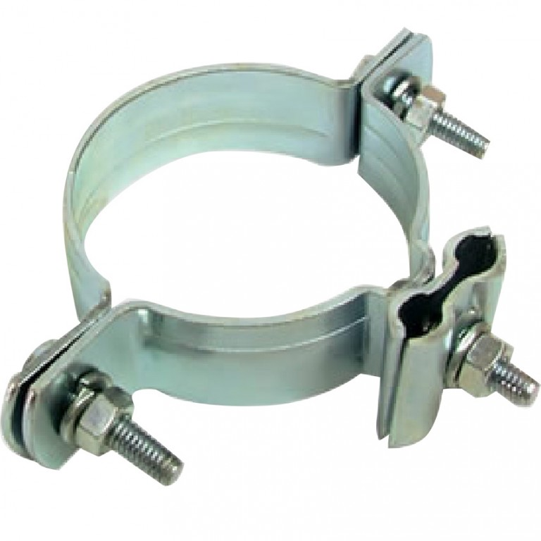 POLE CLAMP FOR TWO Ø8(2X50MM^2)