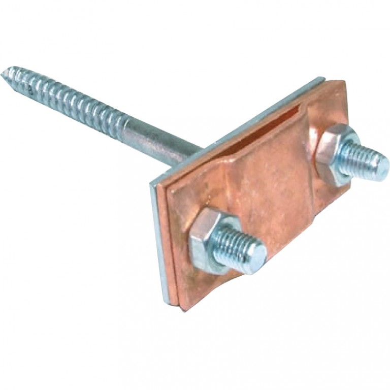 COPPER WALL CLAMPS