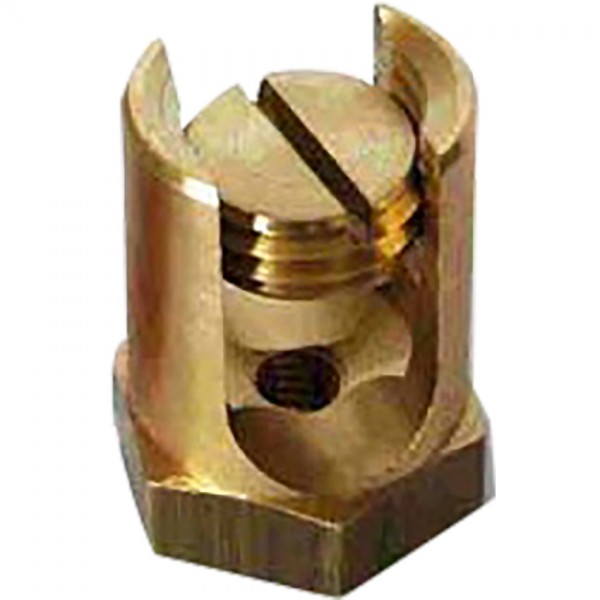 BRASS FIXING AND JOINTING CLAMP (HEXAGONAL)
