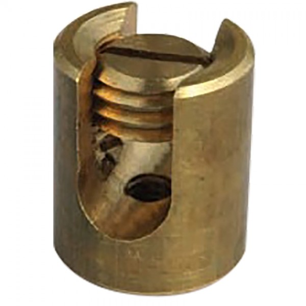 BRASS FIXING AND JOINTING CLAMP (CYLINDRICAL)